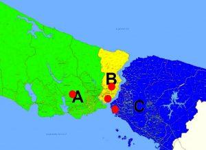 Seçim Bölgeleri ve İstanbul Stadyumları'nın Yerleşimi